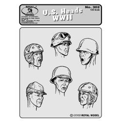 U.S. heads WWII  (1/35)