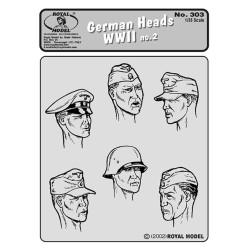 German Heads no.2 - WWII (1/35)