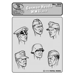 German Heads no.2 - WWII (1/35)