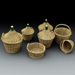 Demijohns and wicker baskets  (1/35)