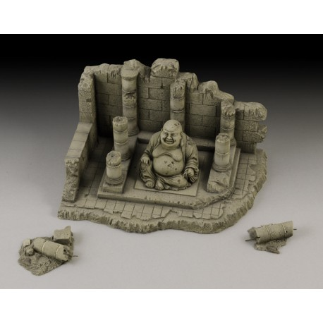 Temple with Buddha ruin (1/35 Scale)