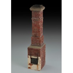 Russian house fireplace & chimney (1/35)