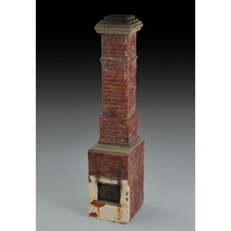 Russian house fireplace & chimney (1/35 Scale)