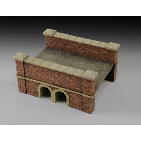 Little red bricks bridge (1/35 Scale)
