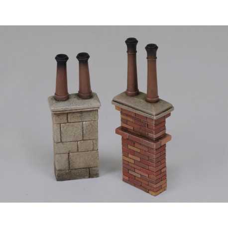 Chimneys no. 2 (1/35 Scale)