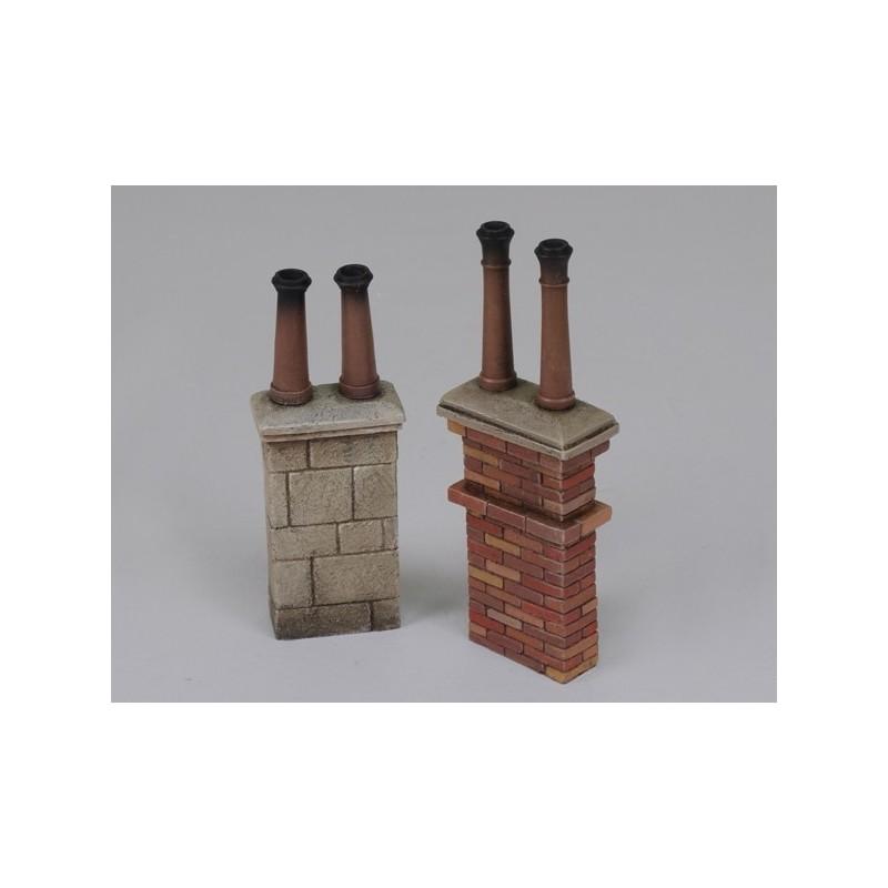 Chimneys no. 2 (1/35 Scale)