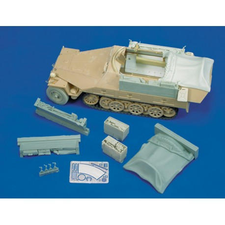 Sd.Kfz. 251/7 Ausf. D part 2 (for Tamiya kit, 1/35 scale)