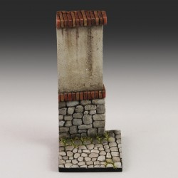 Base with wall (1/35-1/32 scale)