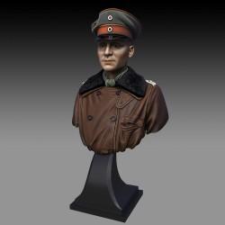 Red Baron - Manfred  von Richthofen Bust  (Scala 1/16)
