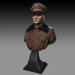 Red Baron - Manfred  von Richthofen Bust  (Scala 1/16)