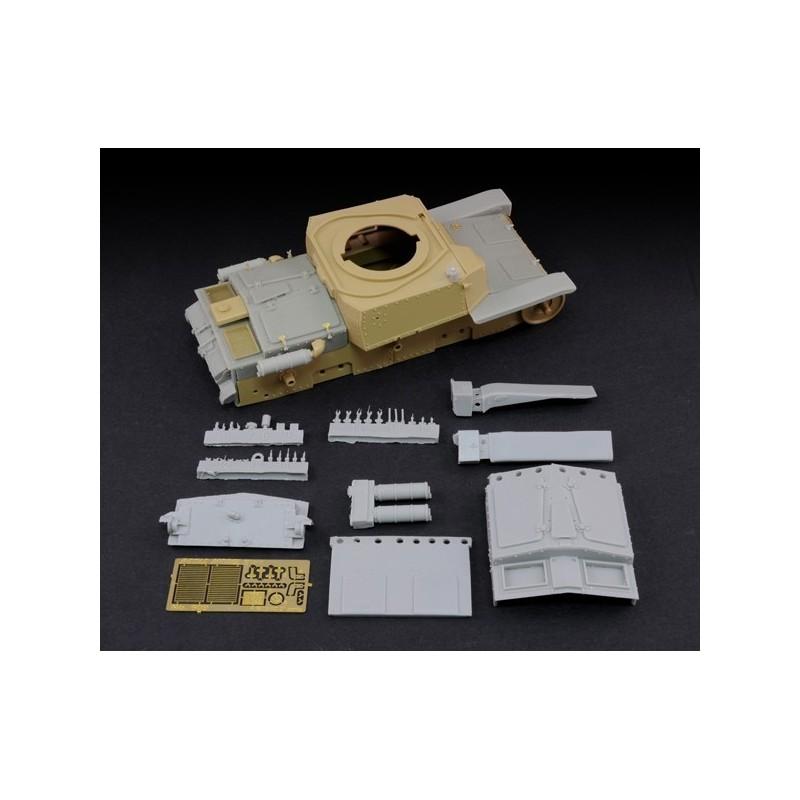 """Conversion kit M13/40 """"final production"""" (1/35 scale)"""