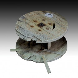 Damaged cable  reel (diameter 60mm)