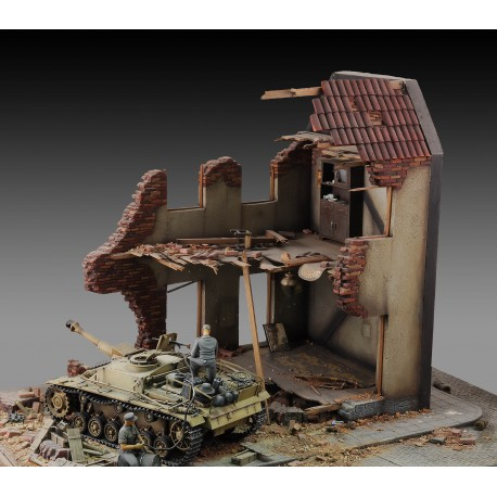 Internal house ruin (1/35 Scale)