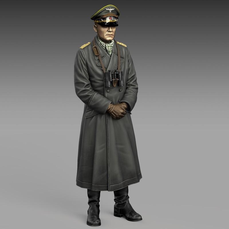 Erwin Rommel (1/35 scale)