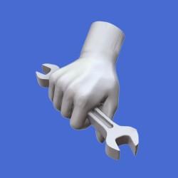 Assorted hands set No.4 (1/35)