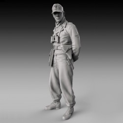 German tanker with arms backward - WWII (1/72)
