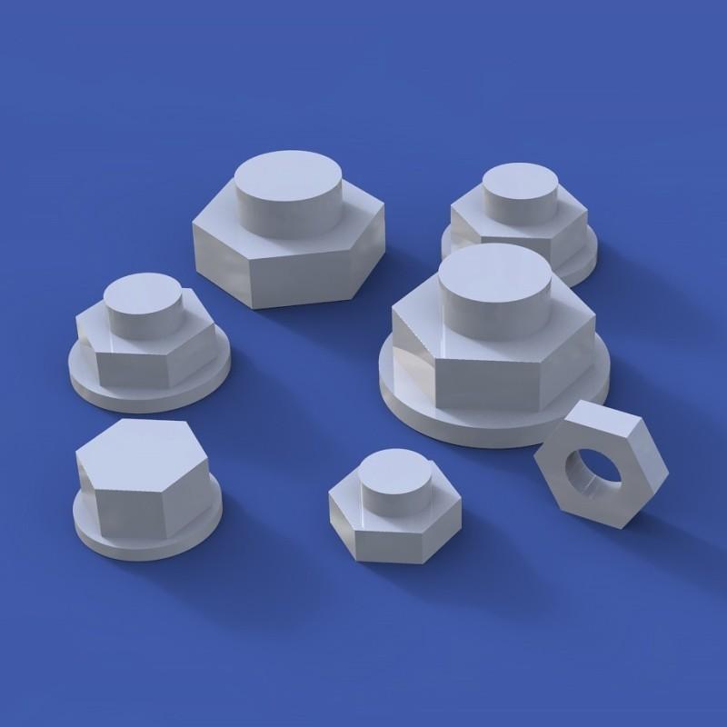 Assorted bolts No.1