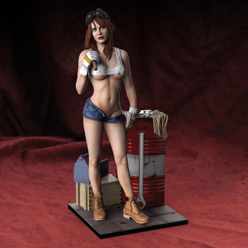 Garage girl (75mm)