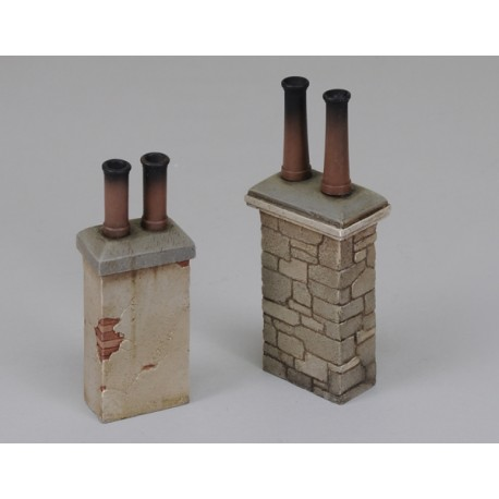 Chimneys no. 1 (1/35 Scale)