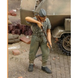 German infantry cleaning rifle - WWII (1/35)