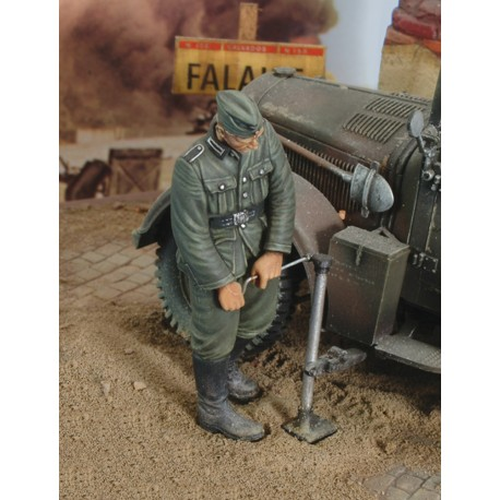 German infantry with Jack - WWII (1/35)