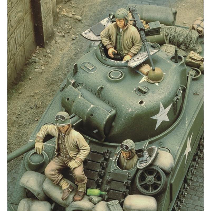U.S. Sherman crew - WWII (1/35)