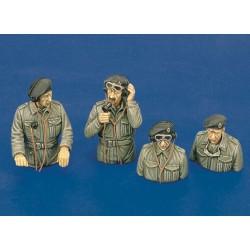 British tank crew - WWII (1/35)