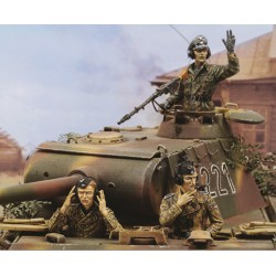 Panther A Late Crew - WWII (1/35)