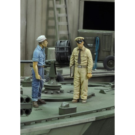 U.S. sailor and navy officer - WWII (1/35)