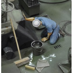 U.S. sailor who is washing - WWII (1/35)