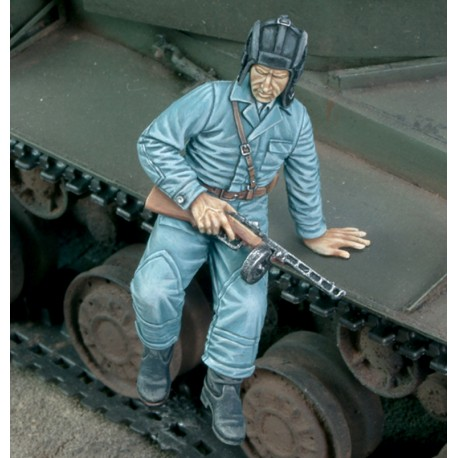 Russian tanker jumping down - WWII (1/35)
