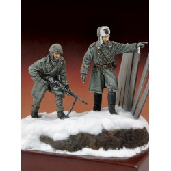"Italian infantryman and officer ""Russia 1943""  (1/35)"