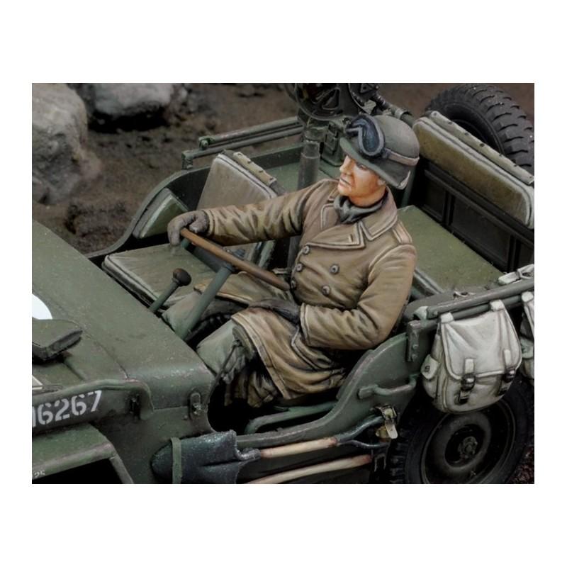 U.S. Jeep driver - WWII (1/35)