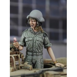 "Israeli woman tanker ""call from my boyfriend"" (1/35)"