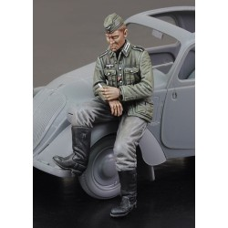 Citroen German Driver - WWII (1/35)