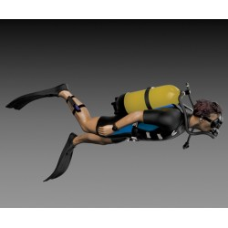 Scuba diver (1/35)
