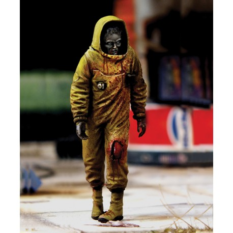 "Zombie in NBC coverall ""Zombies serie"" (1/35) serie"" (1/35)"