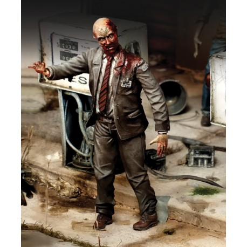 "White collar zombie ""Zombies serie"" (1/35)"