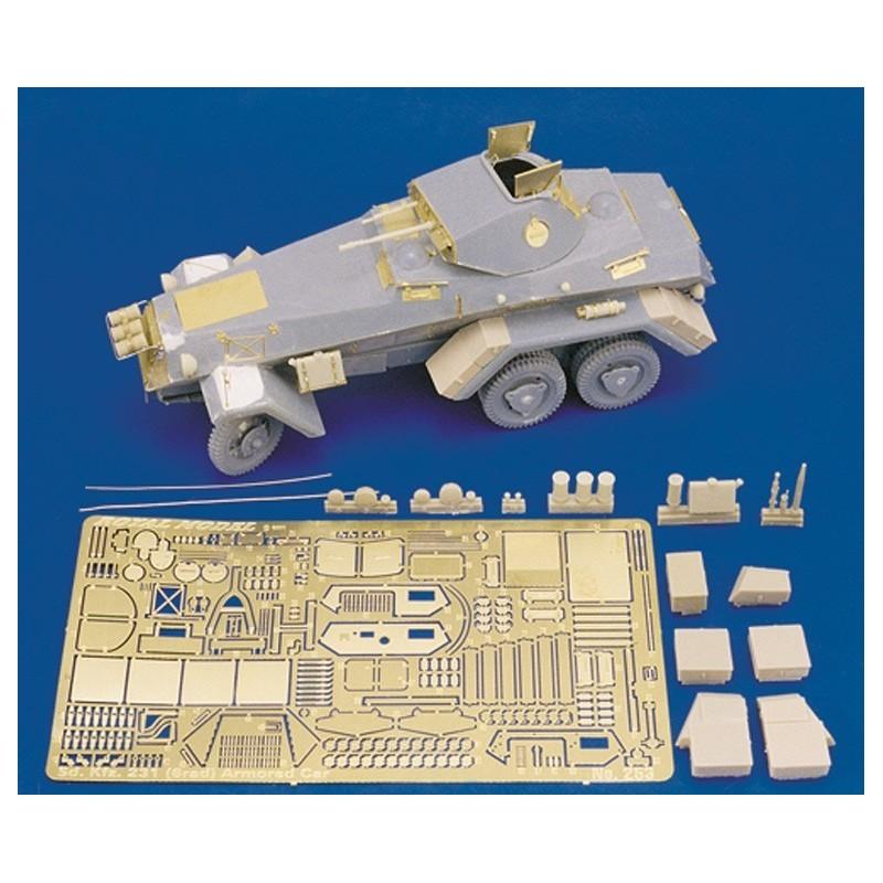 Sd. Kfz. 231 (6 rad) Armored Car (1/35)