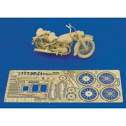 German Motorcicle DKW NZ 350 (1/35)