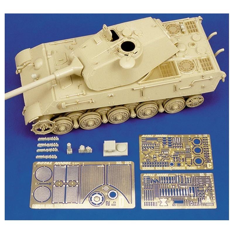 """German King Tiger """"Porsche turret"""" (1/35)"""