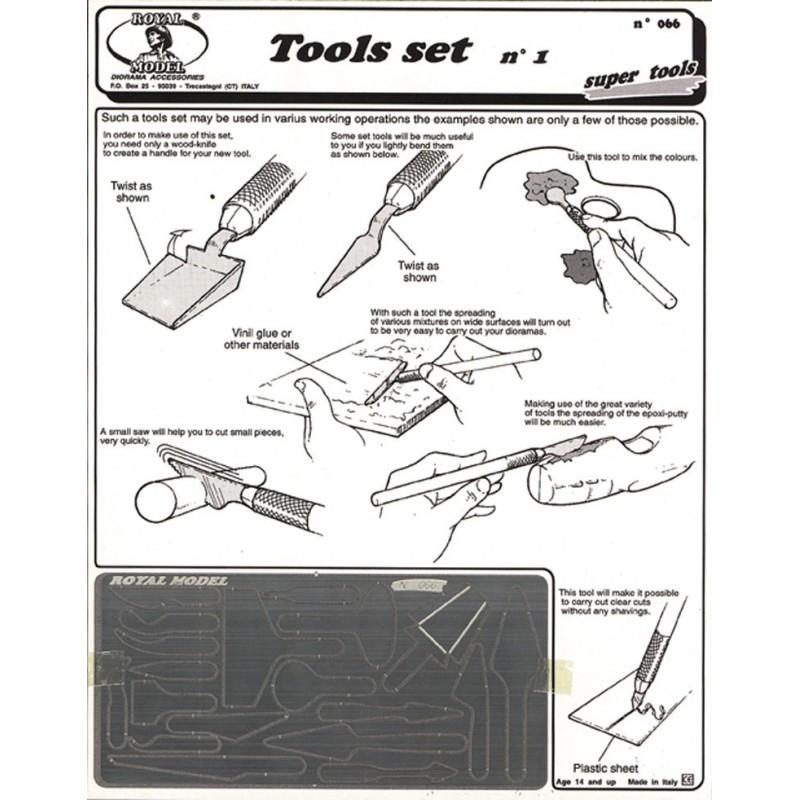 Tools set no. 1